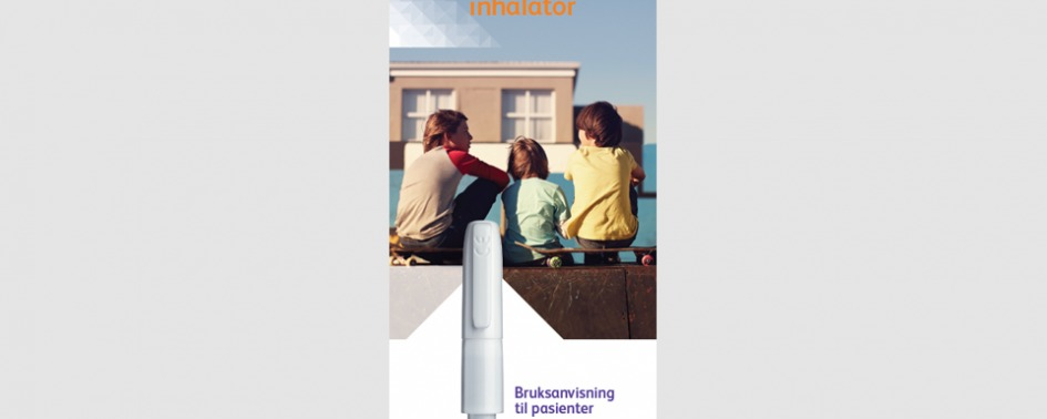 Turbospin inhalator til Colobreathe